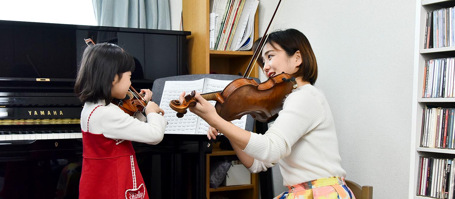 バイオリンクラス